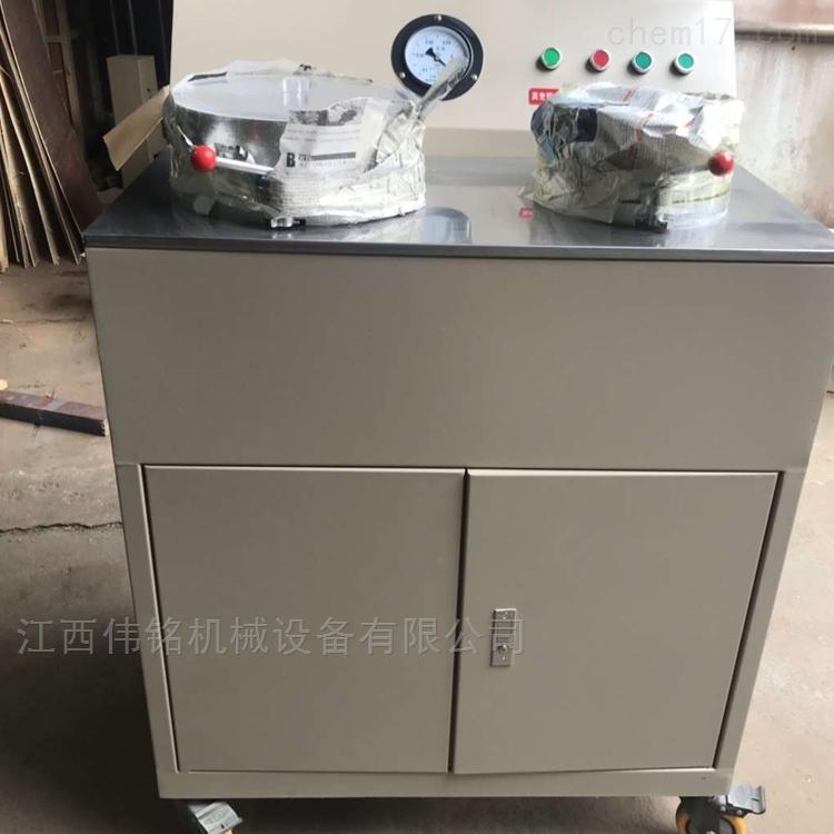 宁波矿工试验过滤机实验室盘式真空抽滤机