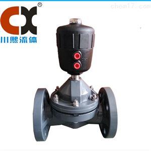 气动CPVC隔膜阀