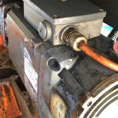 多年专检修诊断西门子主轴电机温度过高烫手