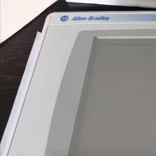 AB触摸屏上电显示白屏不启动维修检测教程
