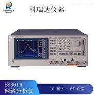 安捷伦E8361A网络分析仪全国回收