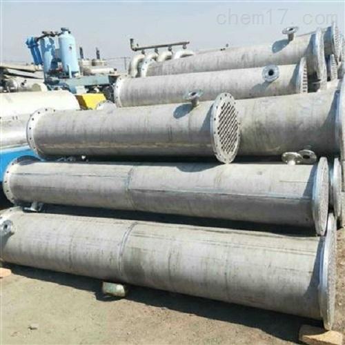 出售一批二手40平方列管冷凝器现货