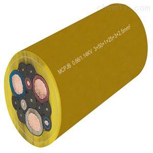 MCPTJ0.66/1.14kv矿用采煤机电缆3*95+2*50