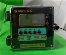 台湾上泰SUNTEX水质分析仪标准型PH/ORP分析仪,上泰PC-350在线PH变送器