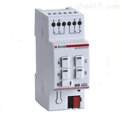 ASL100-DI4/20干接点输入模块 无源信号控制驱动 消防联动