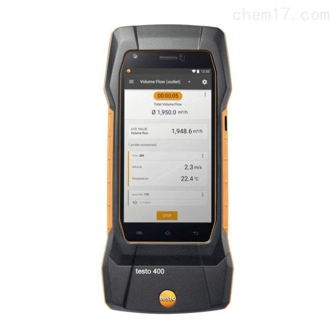 德图testo400智能型参比级多功能测量仪