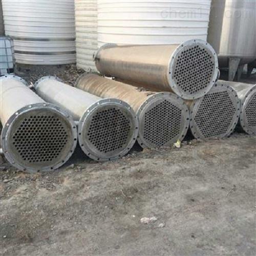 闲置一批二手50平方列管冷凝器鑫达供应