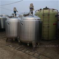 出售2吨不锈钢搅拌罐双层电加热