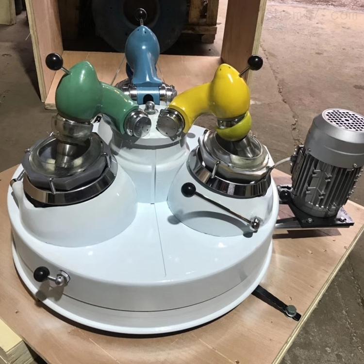 三头玛瑙研磨机