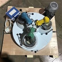 XPM120*3厂家生产小型矿用高校实验室三头研磨机