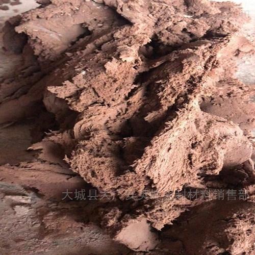优质防火泥与普通泥对比试验