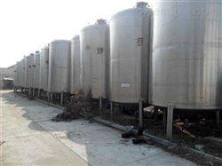 回收二手20吨乳品发酵罐