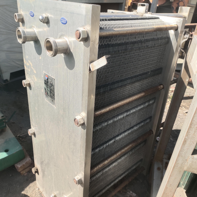 二手不锈钢板式换热设备出售