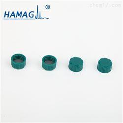 HM-4465L预组装绿色螺纹实心盖(含PTFE/硅胶垫片)