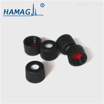 8mm预组装黑色开孔盖预开口红色PTFE白色硅胶垫
