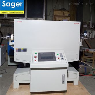 SG-GS1200/1400/1700度真空马弗炉管式电炉