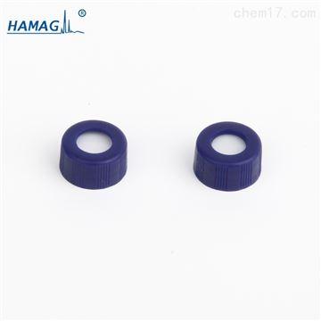 HM-0720样品瓶9MM螺纹开口盖红色PTFE白色硅胶垫