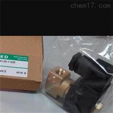 原装进口日本CKD喜开理电磁阀AD11-10A/CKD