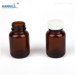 HM-GKPZ-60样品瓶棕色广口瓶子60ML 含盖+PTFE 垫