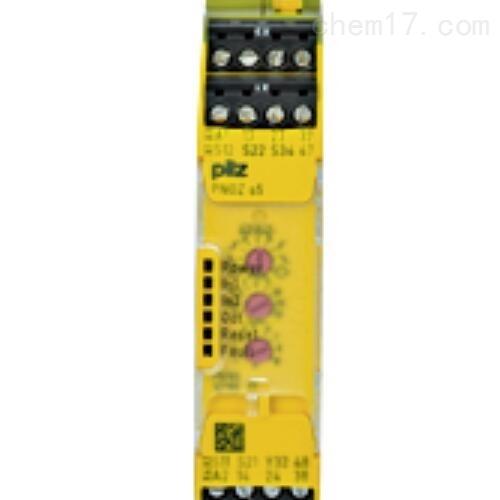 德国PILZ时间监控继电器规格图样