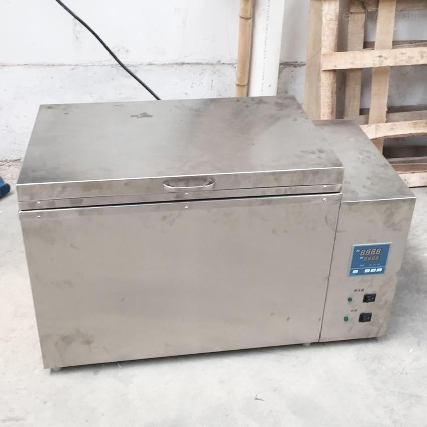 内外304不锈钢电热恒温水槽75L水浴箱水浴锅