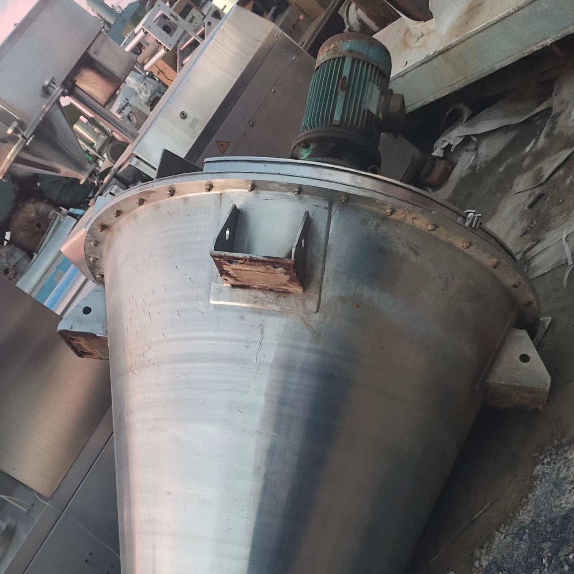 供应二手20平方不锈钢锥形混合机出售
