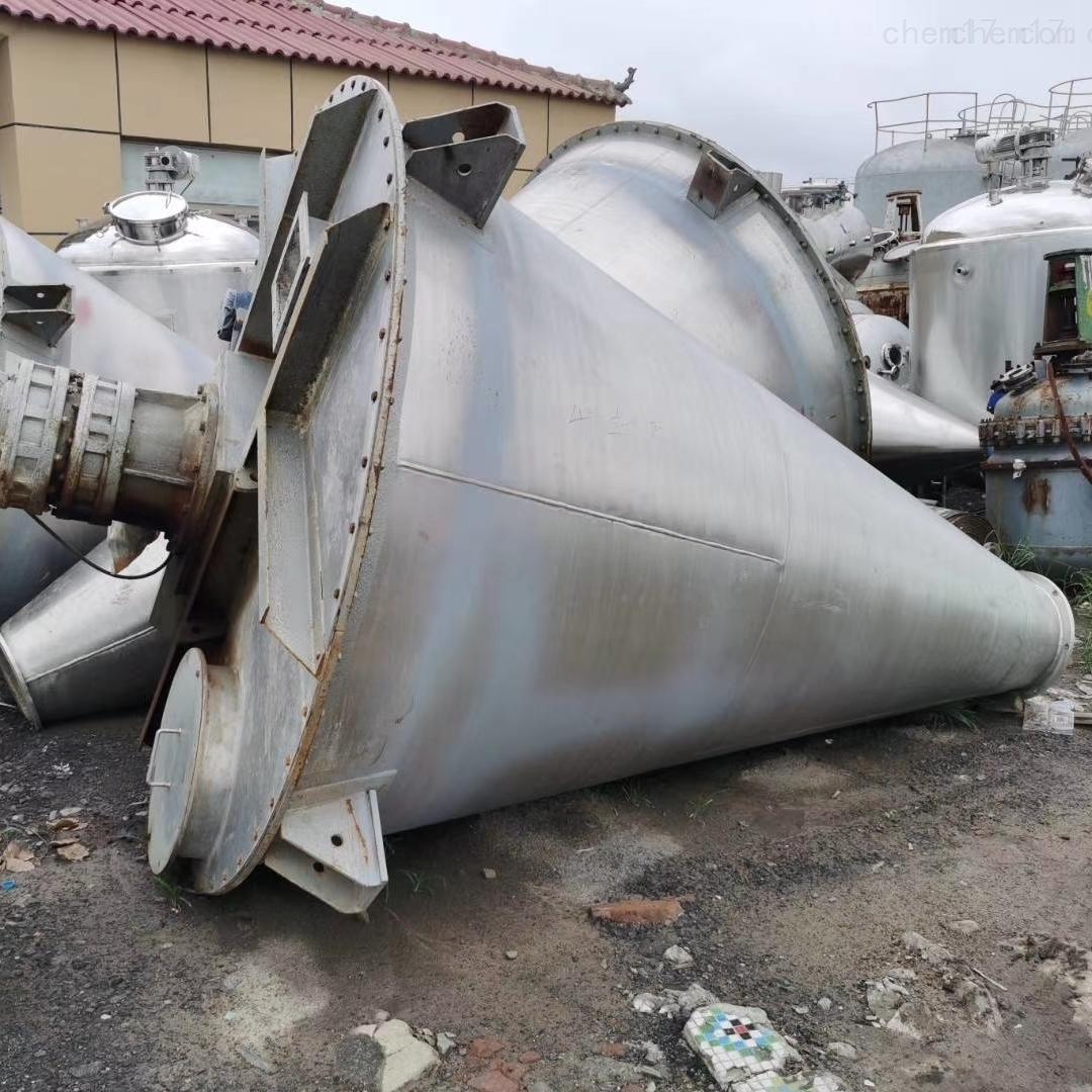供应二手2吨锥形混合机全不锈钢现货