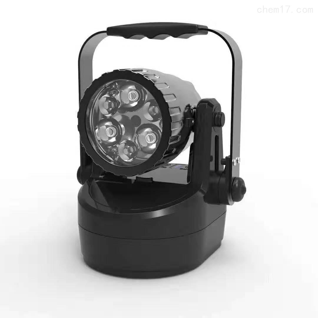 JIW5282-12W野外手提带蓄电池吸铁泛光灯