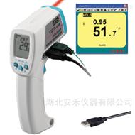 红外线温度计TES-1327K USB泰仕