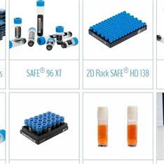 SAFE ® 2D條形碼管、冷凍管