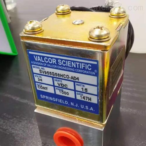 美国VALCOR电磁阀