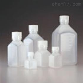 Nalgene 方形自然色 PPCO 带盖刻度瓶