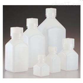 Nalgene 方形 HDPE 带盖刻度瓶