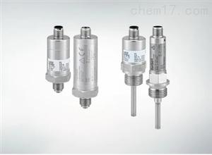 Burkert压力和温度传感器CANopen或IO-Link
