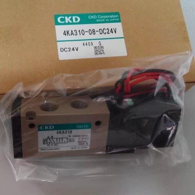 日本CKD带导杆气缸