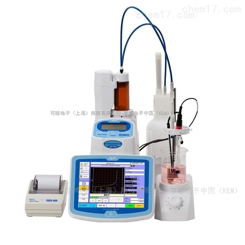 豪华型自动电位滴定仪