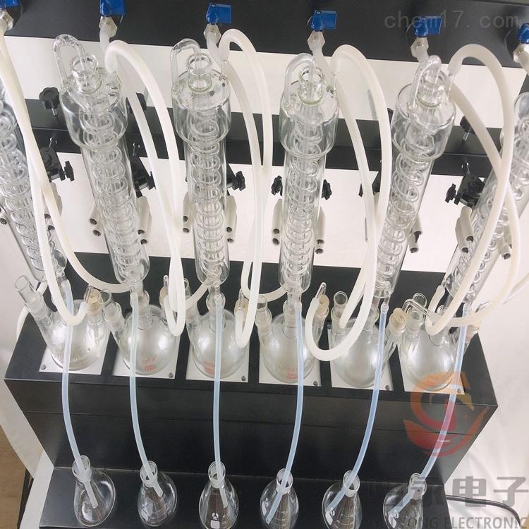 GY-FSZLY-6一体化水蒸汽智能蒸馏仪型号