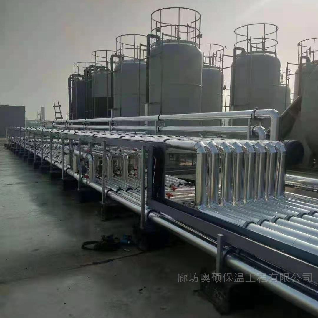 北京管道铝皮橡塑保温安装厂家