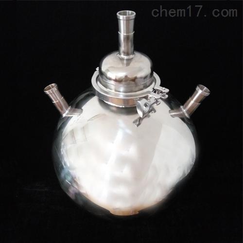 不锈钢蒸馏烧瓶圆底烧瓶反应釜