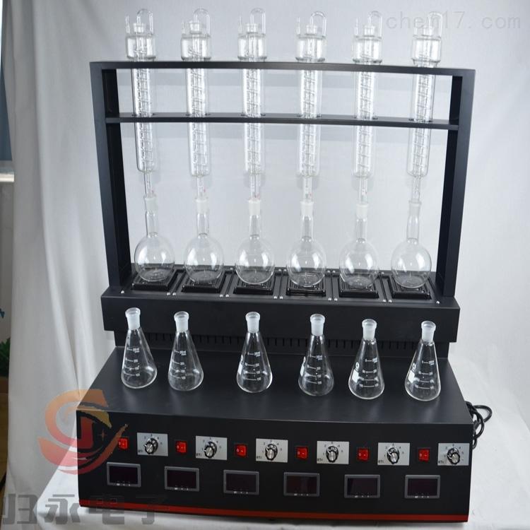 环境监测常压蒸馏仪品牌GY-DGZLY-6