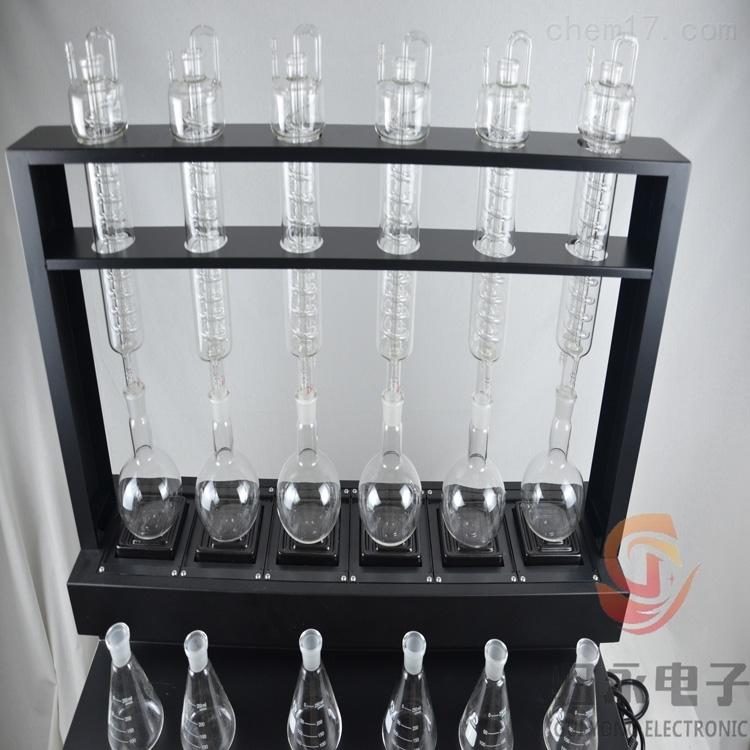 GY-DGZLY-6多功能六联常压蒸馏仪