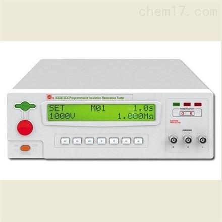 程控絕緣電阻測試儀