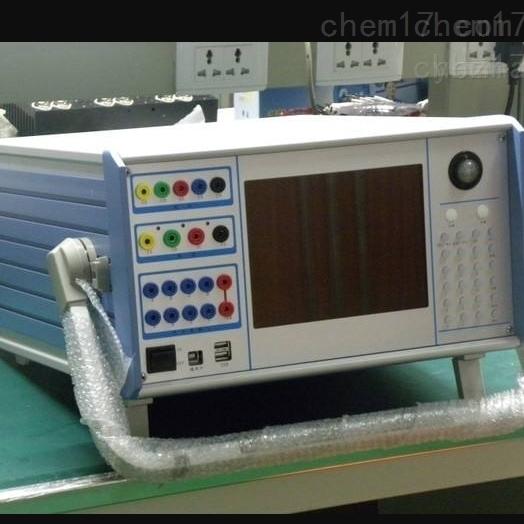 长春承试电力设备六回路微机继电保护校验仪