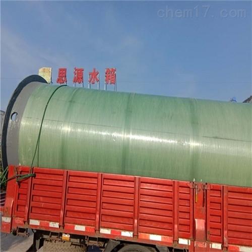 玻璃钢预制提升泵站可靠的原因