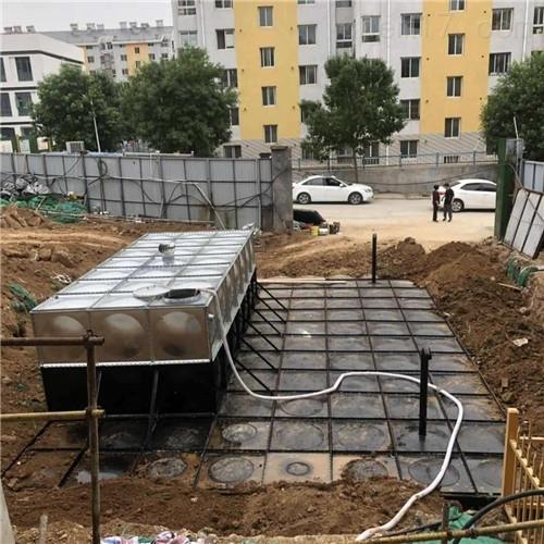 地埋一体化消防水箱设计上的改良