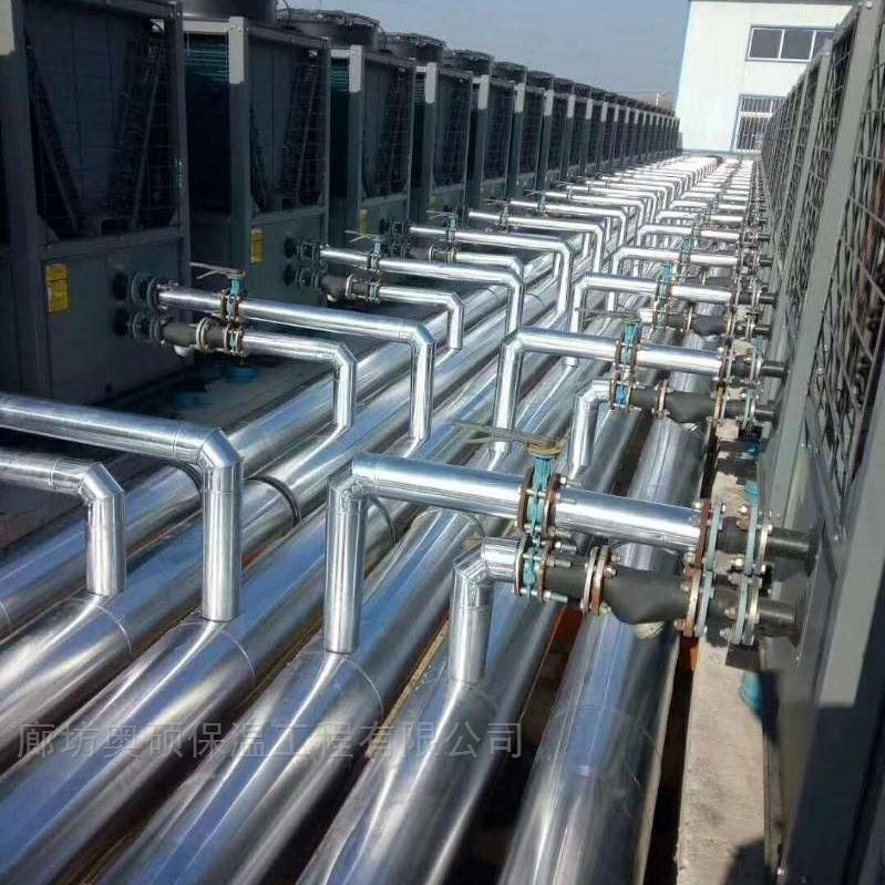 冷风机管壳管道保温安装