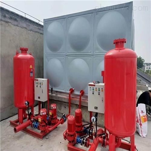 不锈钢肋型焊接屋顶箱泵一体化水箱