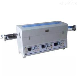 YB-1200GAK-31200度水平式三温区开启式管式电炉