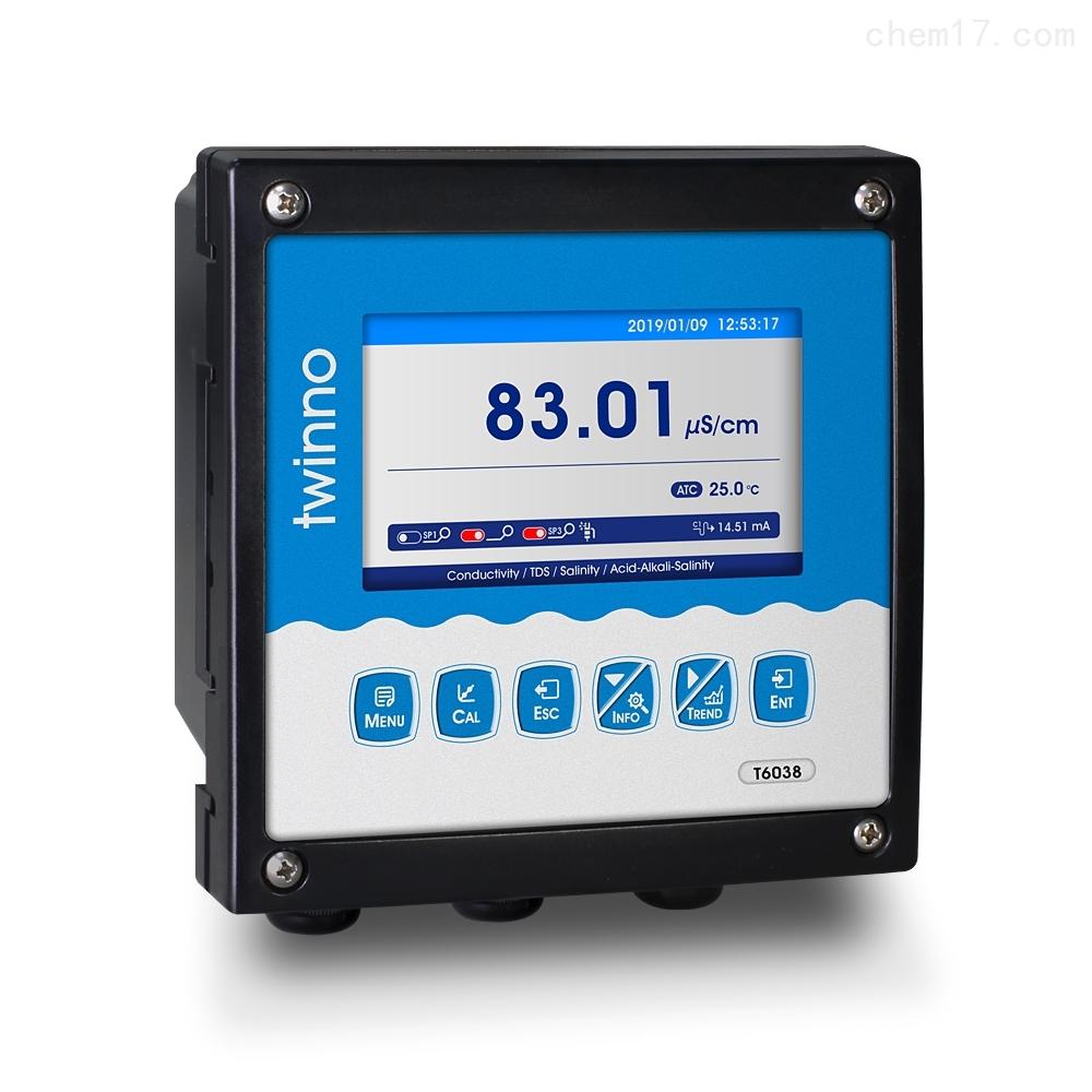 无极式工业电导率仪控制器