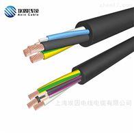 RVVP多芯软导体聚录乙烯屏蔽电缆